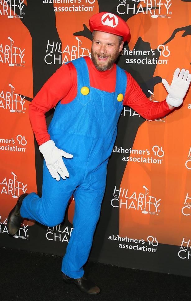 Seth Rogen de Mario Bros