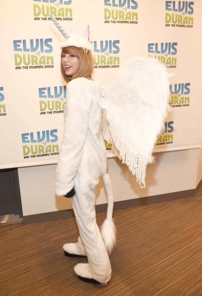 Taylor Swift como unicornio