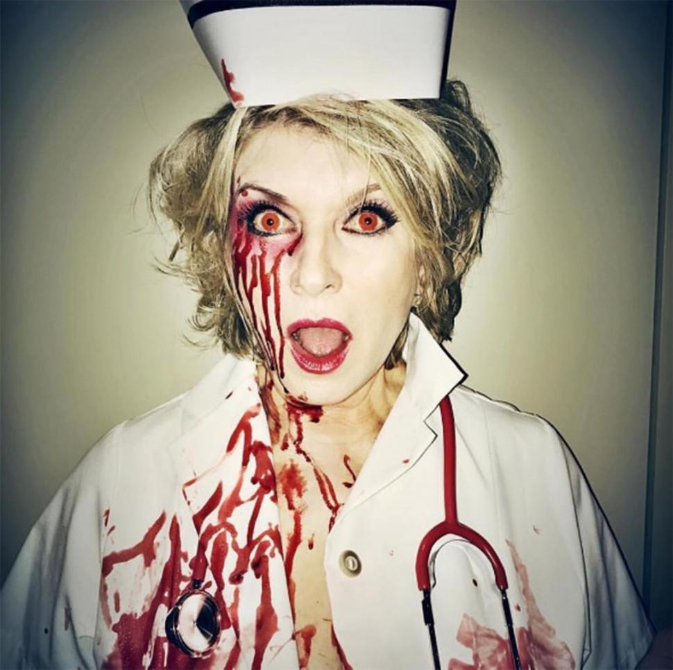 Martha Stewart de enfermera siniestra