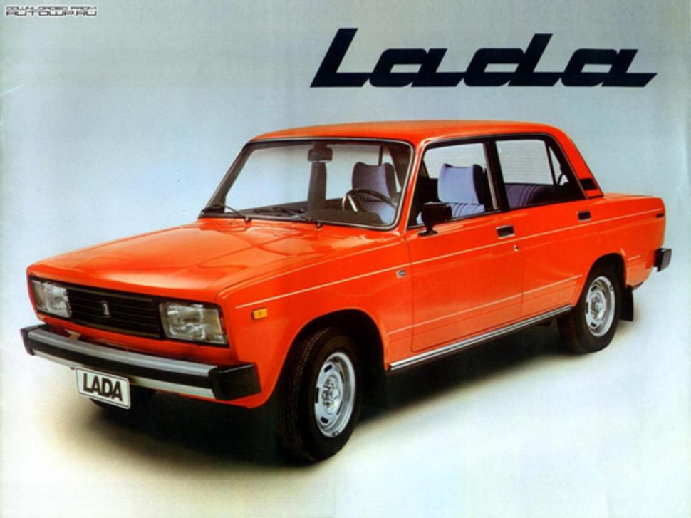 Modelo más popular del automóvil Lada, marca que aún sigue vigente