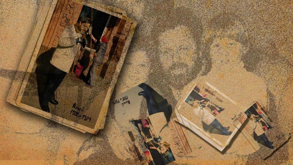 LA PORTADA. Jorge Sivak, en la foto de tapa del libro de su hijo. Morían los 80 y él y la URSS tenían los días contados. revistaanfibia.com