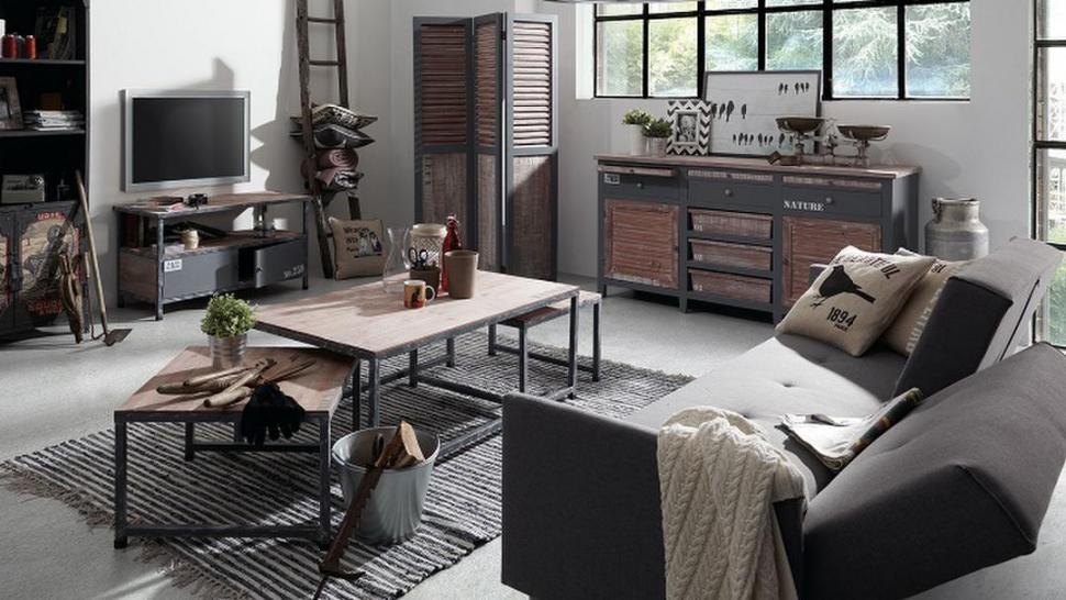 A NUEVO. Muebles actuales, bajo la consigna del estilo industrial.