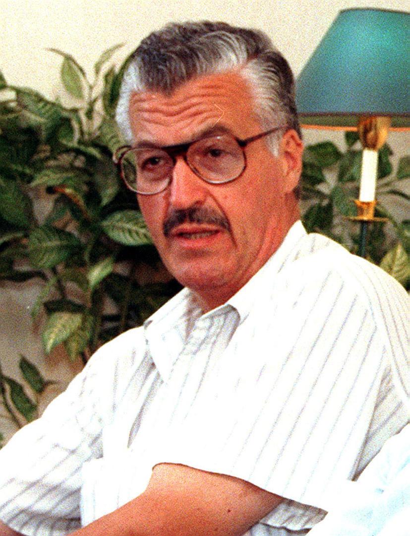 EN CASA. Sergio Quiroga, 72 años