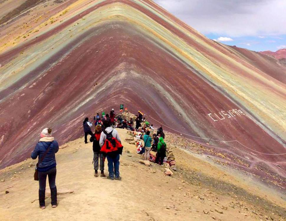 Montaña de los siete colores o Vinicunca
