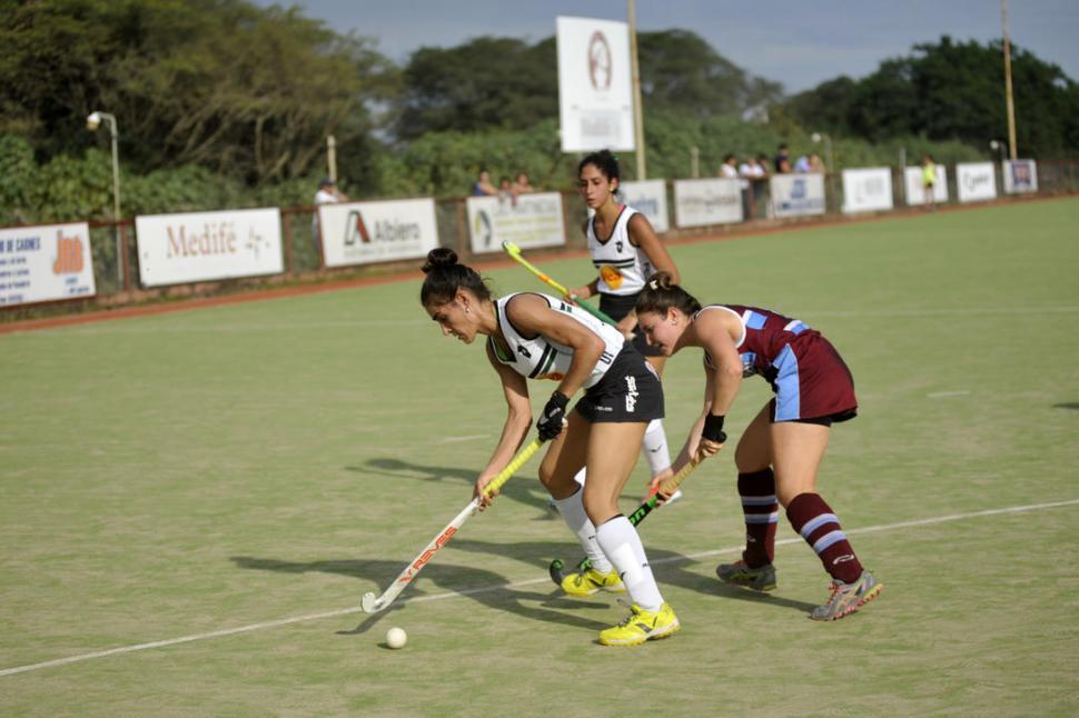 SOBRA CONFIANZA. Anahí Totongi cree que Tucumán Rugby dará vuelta la historia.  la gaceta / foto de Inés Quinteros Orio (archivo)
