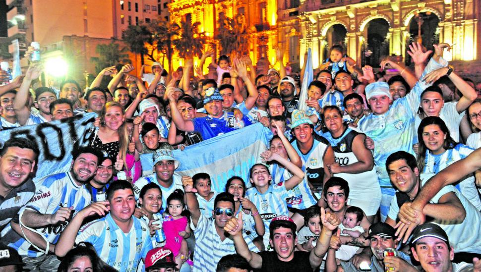 Atlético es una fiesta: otra vez a la Libertadores