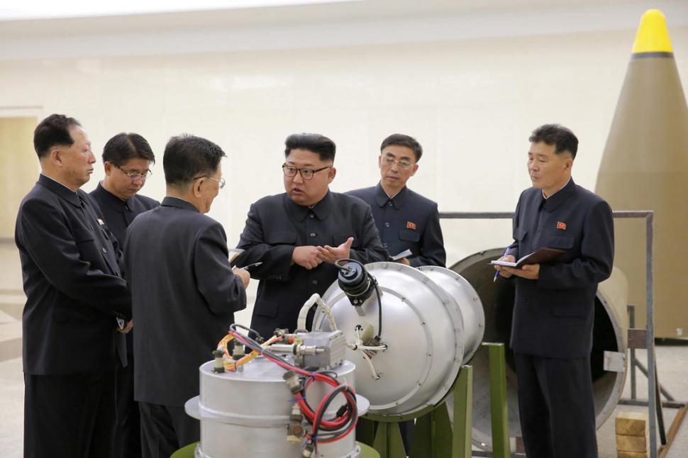 CRISPACIÓN. Los tests nucleares que promueve Kim Jong-un han agudizado las tensiones en Extremo Oriente. REUTERS (ARCHIVO)