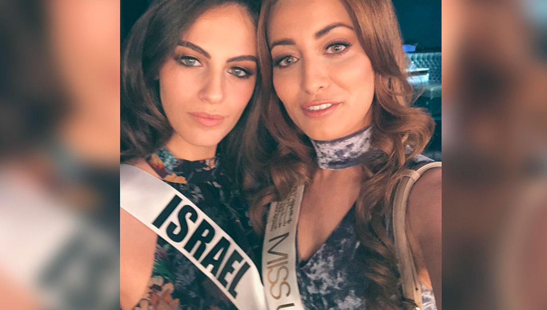 MISS IRAQ Y MISS ISRAEL. FOTO TOMADA DE RT.COM