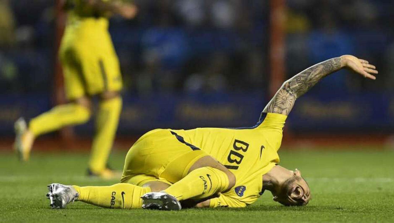 AFUERA. Benedetto se rompió los ligamentos. (FOTO TOMADA DE TWITTER)