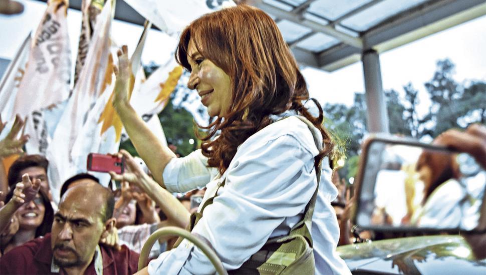Cristina está en Tucumán y las 18 participará de un acto en El Cadillal