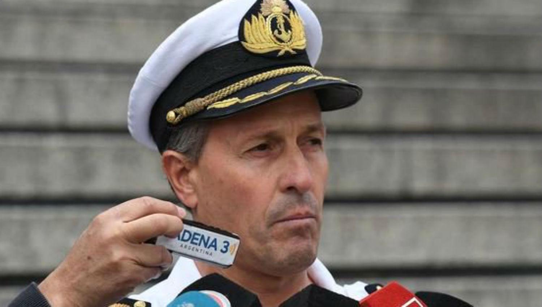 Enrique Balbi, vocero de la Armada