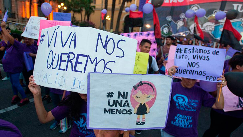 NI UNA MENOS. Se espera otra convocatoria multitudinaria. FOTO LA GACETA/ARCHIVO.