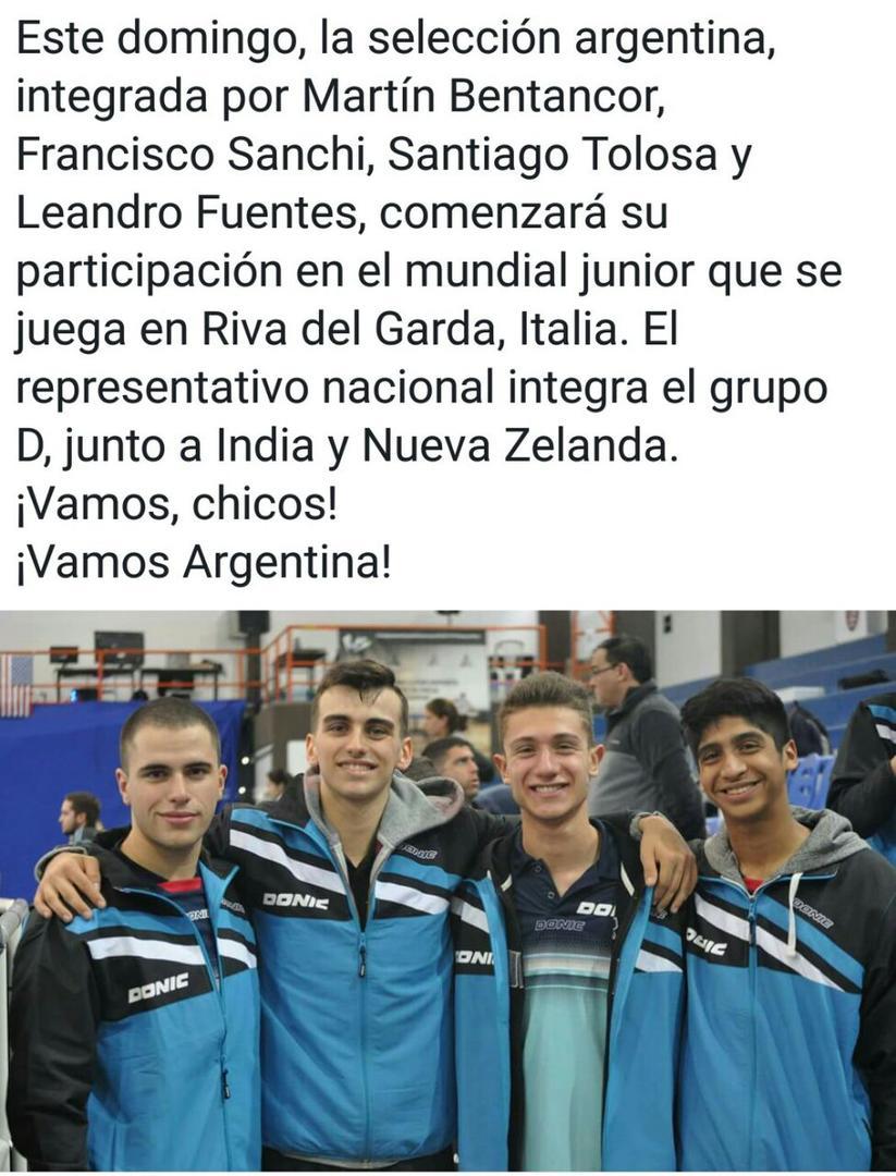SUMA EXPERIENCIA. Santiago Tolosa (derecha) integra el equipo nacional.
