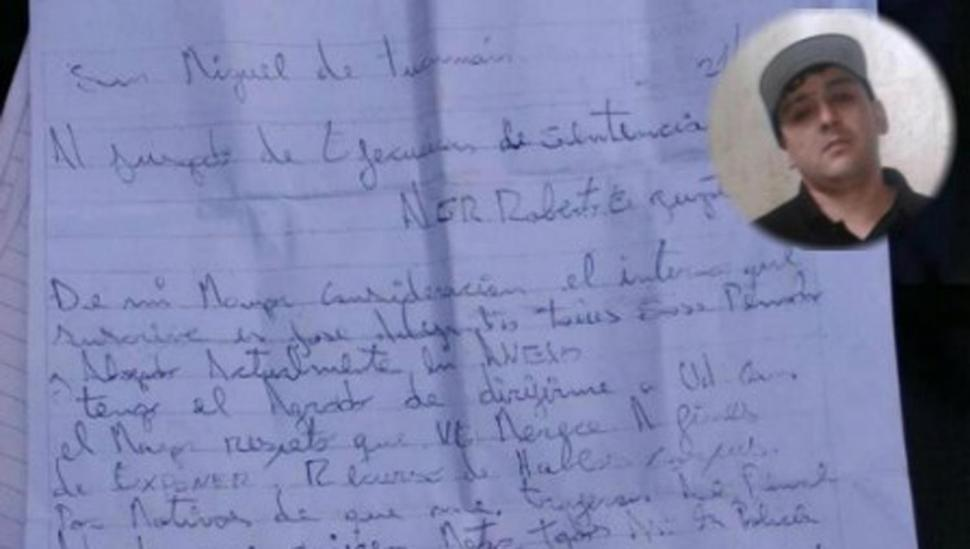El preso asesinado advirtió por carta que iban a matarlo
