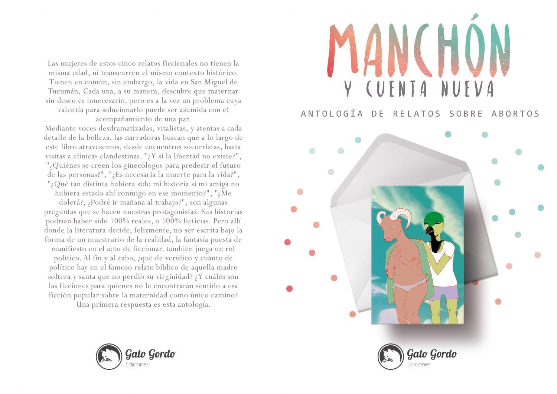 """El aborto y la literatura – Reseña de """"Manchón y cuenta nueva, por ..."""