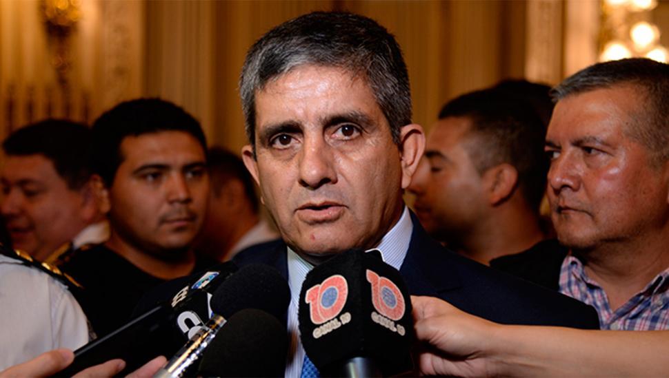 José Díaz: jefe de Policía