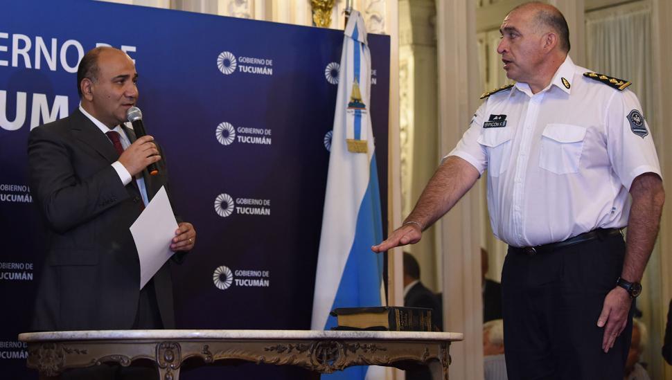 Francisco Picón: subjefe de  Policía