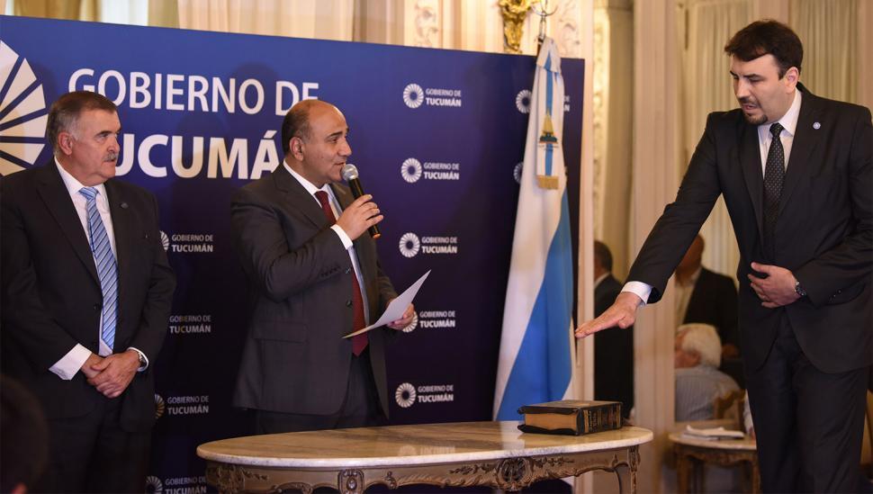 Esteban Medina: secretario de Gestión Administrativa