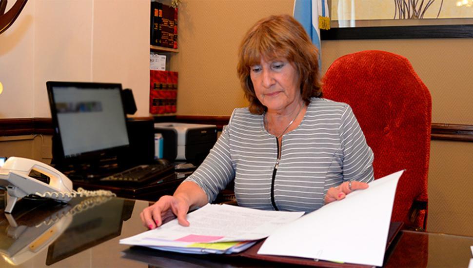 Silvia Pérez: secretaria General de la Gobernación
