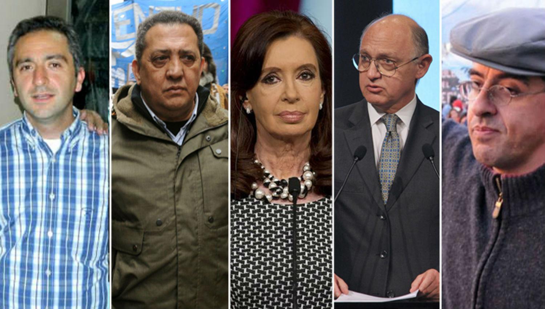 CAUSA AMIA. Larroque, D´Elía, Cristina Fernández, Timerman y Esteche.