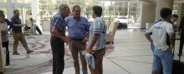 Alperovich y Golobisky también llegaron a Mendoza para alentar al