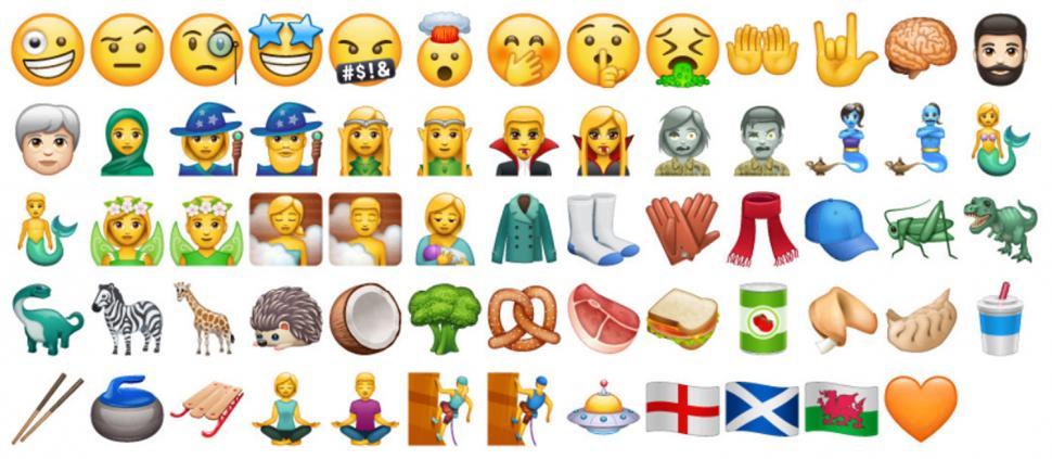 Más emojis