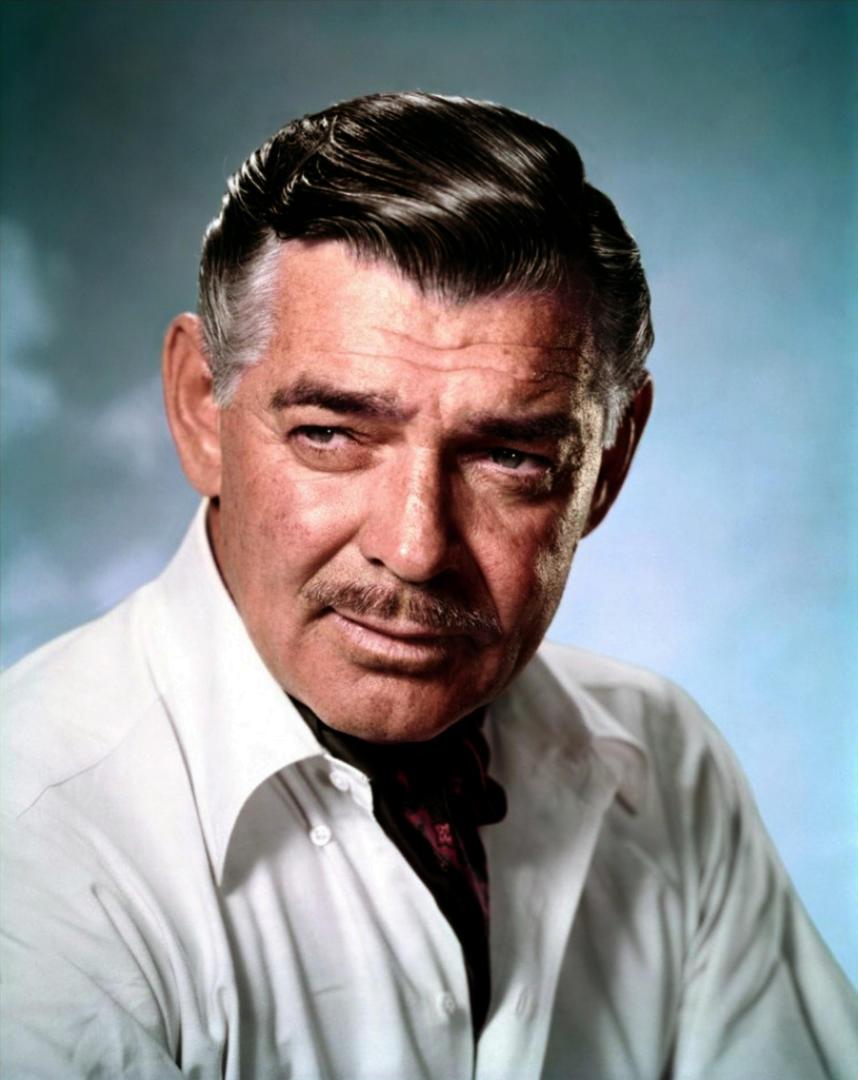 -Clark Gable.-