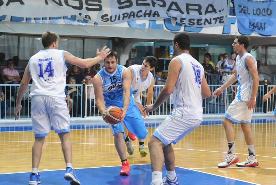 MEJOR DEFENSA. En promedio, Tucumán BB recibe 63,5 puntos por partido. la gaceta / foto de hector peralta (archivo)