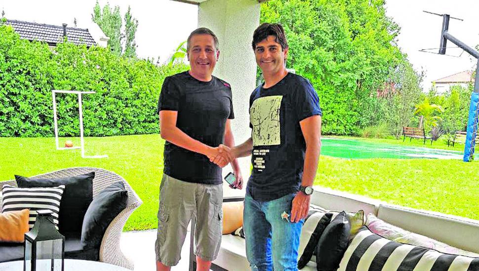 Forestello firmará hoy su contrato con la entidad de La Ciudadela