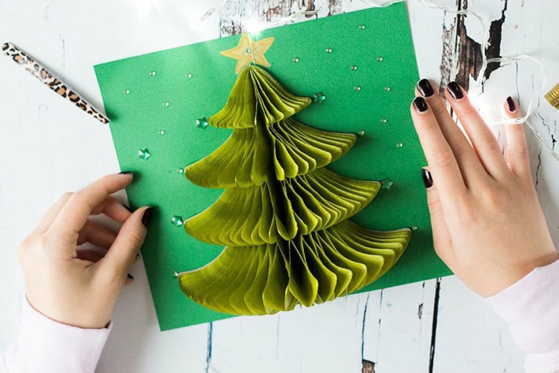 C mo hacer cinco tarjetas navide as originales y muy - Como hacer tarjetas navidenas originales ...