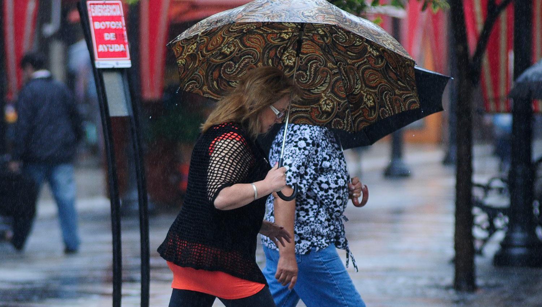 Se esperan lluvias hasta el sábado a la tarde. LA GACETA/FOTO DE ANALÍA JARAMILLO