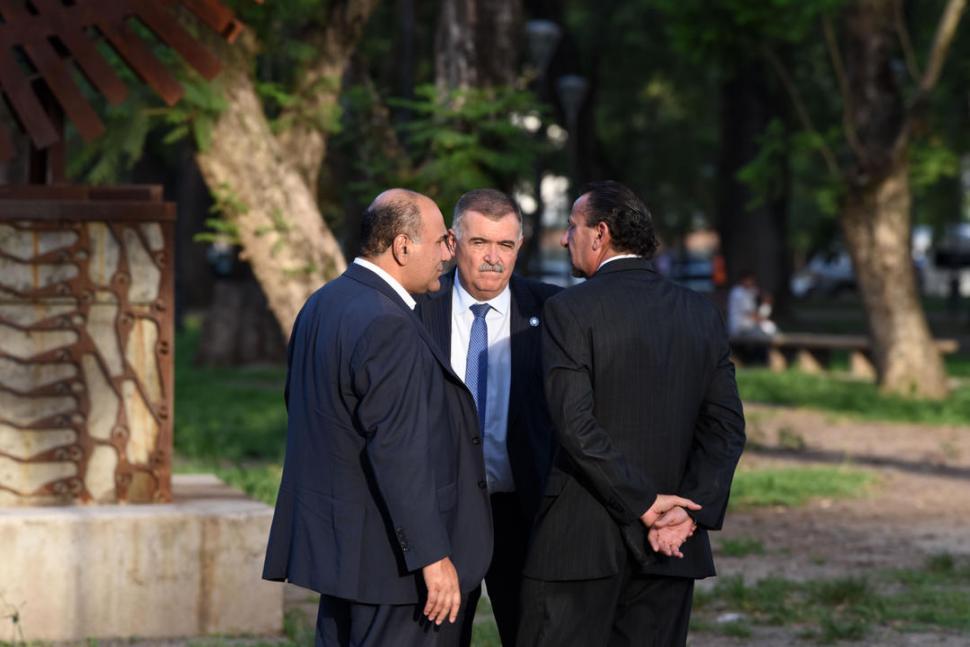 RESPUESTA OFICIAL. Jaldo, como presidente de la Cámara, refutó a Macri. la gaceta / foto de DIEGO ARAOZ