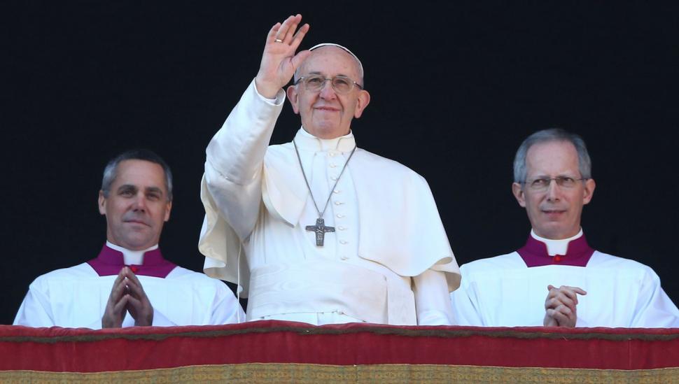 Francisco pidió por la paz en Medio Oriente