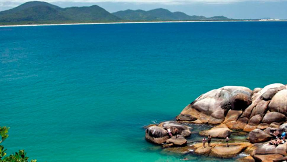 Piscinas naturales de Barra da Lagoa