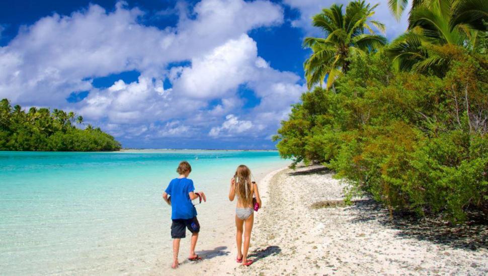 Isla One Foot, Islas Cook