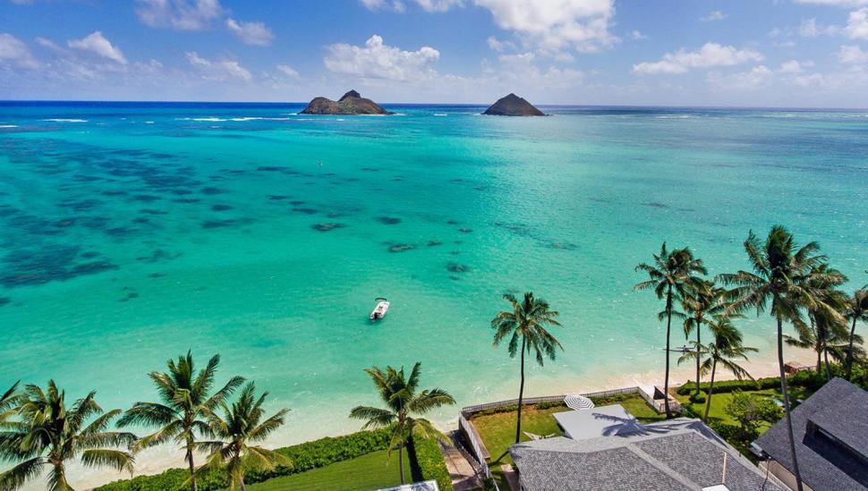 Playa Lanikai, Hawaii, Estados Unidos