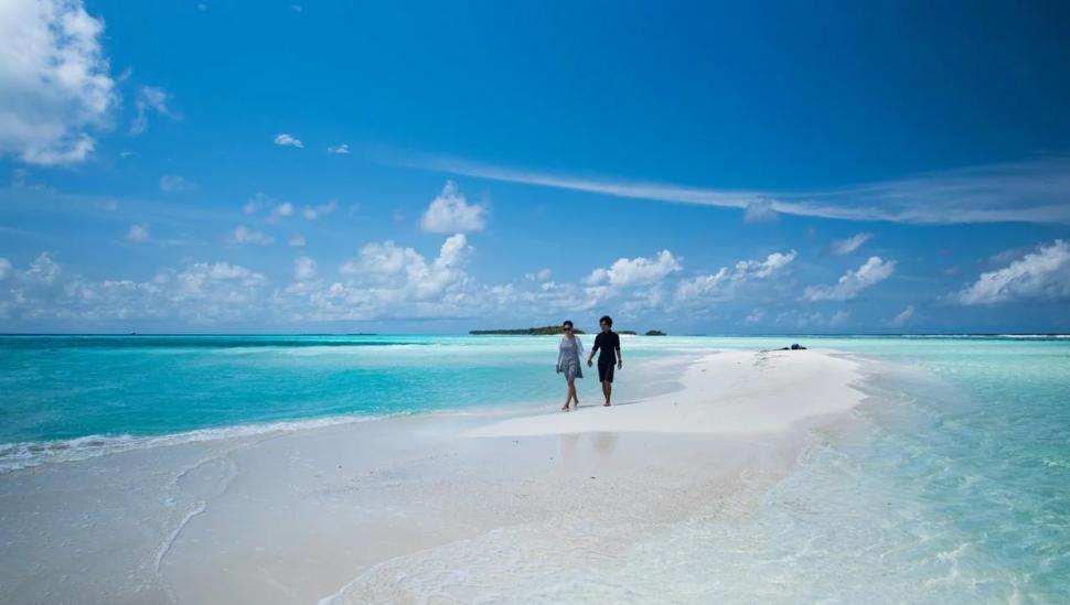 Isla Dhigurah, Maldivas
