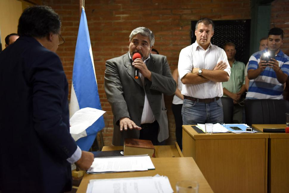 ANTES DEL FALLO. Aranda juró en el cargo la semana pasada, pero los opositores consideran que su asunción es nula. la gaceta / foto de jose nuno