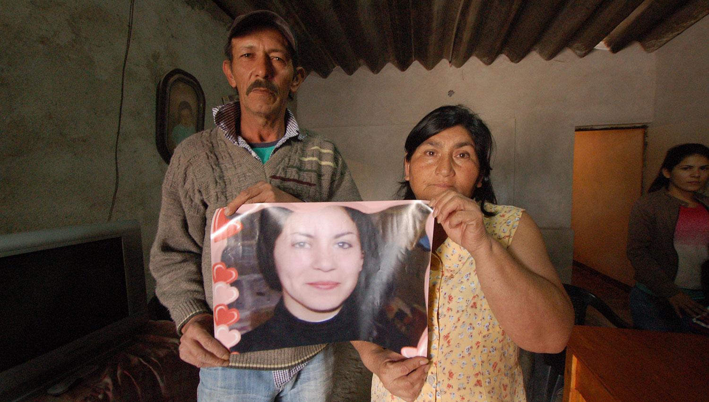 Los padres de Cecilia Brito esperaron justicia durante seis años. LA GACETA/FOTO DE OSVALDO RIPOLL (ARCHIVO)