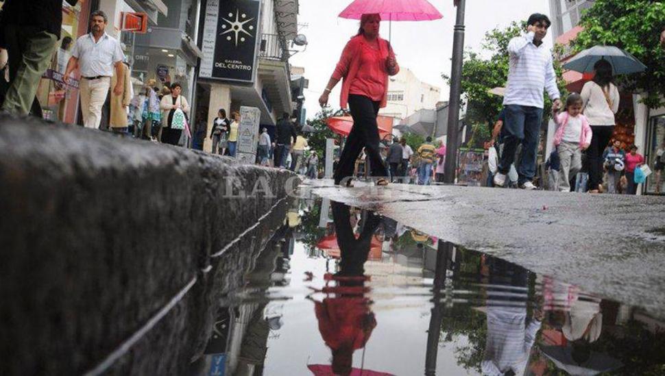 Lluvia, lluvia y más lluvia