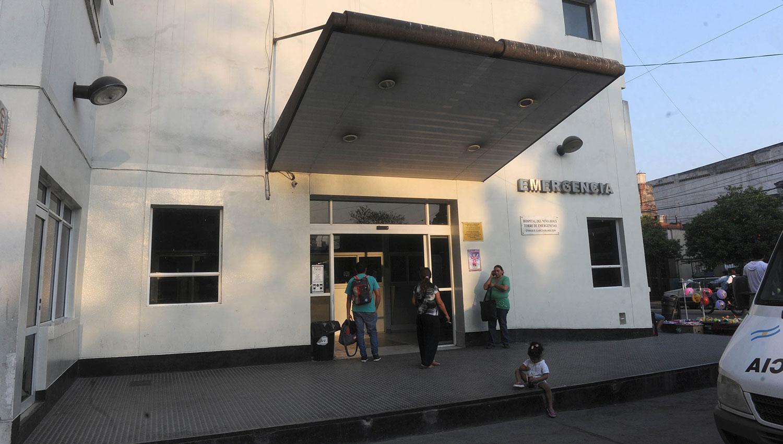El pequeño llegó en grave estado al Hospital de Niños. LA GACETA/FOTO DE ANTONIO FERRONI