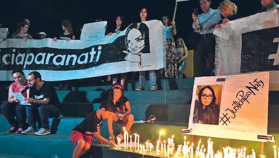 Concepción recordó a Natalia Vargas y reclamó Justicia