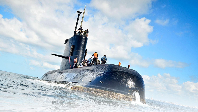 El submarino había reportado una falla en las baterías, pero posteriormente informó que había sido reparado.