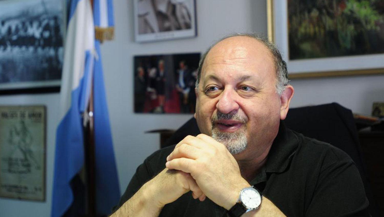 MAURICIO GUZMAN. El titular del Ente Cultural. ARCHIVO