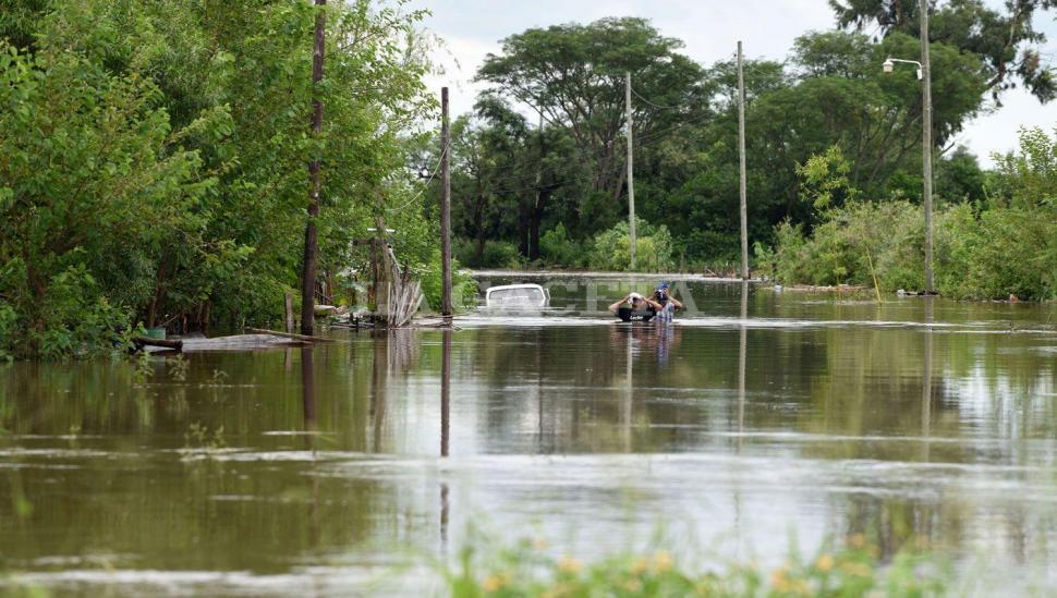 Del sur de la capital a Ranchillos, la inundación causó estragos