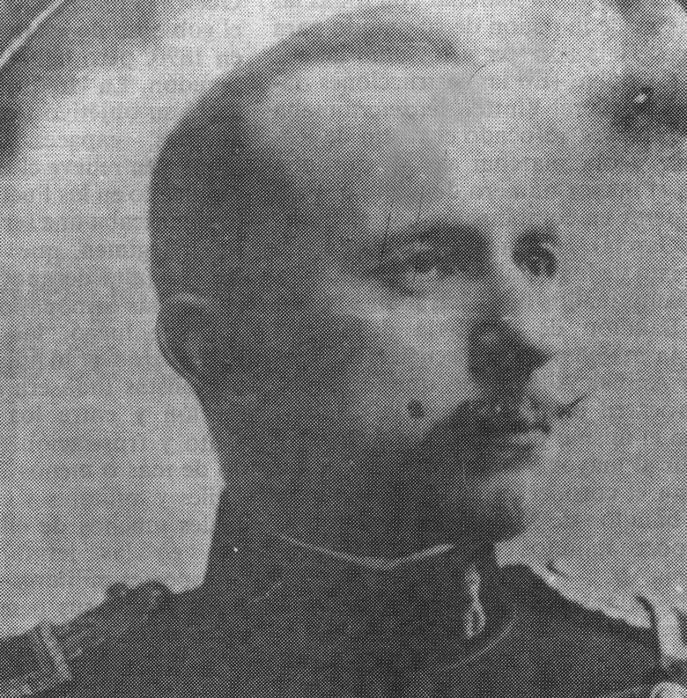 DANIEL FERNÁNDEZ. El teniente coronel, del batallón de Telegrafistas, que comandó la revolución cordobesa., el doctor Benito Villanueva.