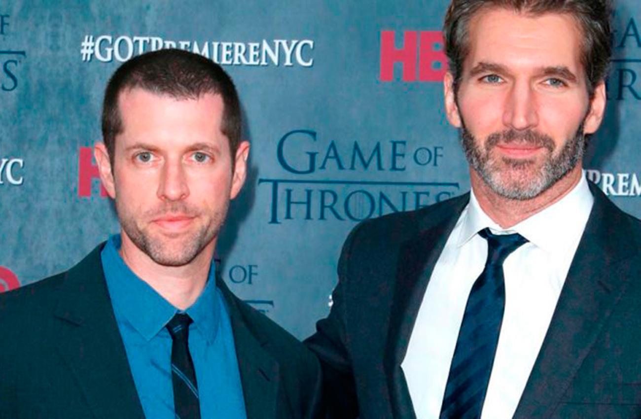LOS ELEGIDOS DE DISNEY. David Benioff y Daniel Brett Weiss harán la nueva saga de Star Wars. (HBO)