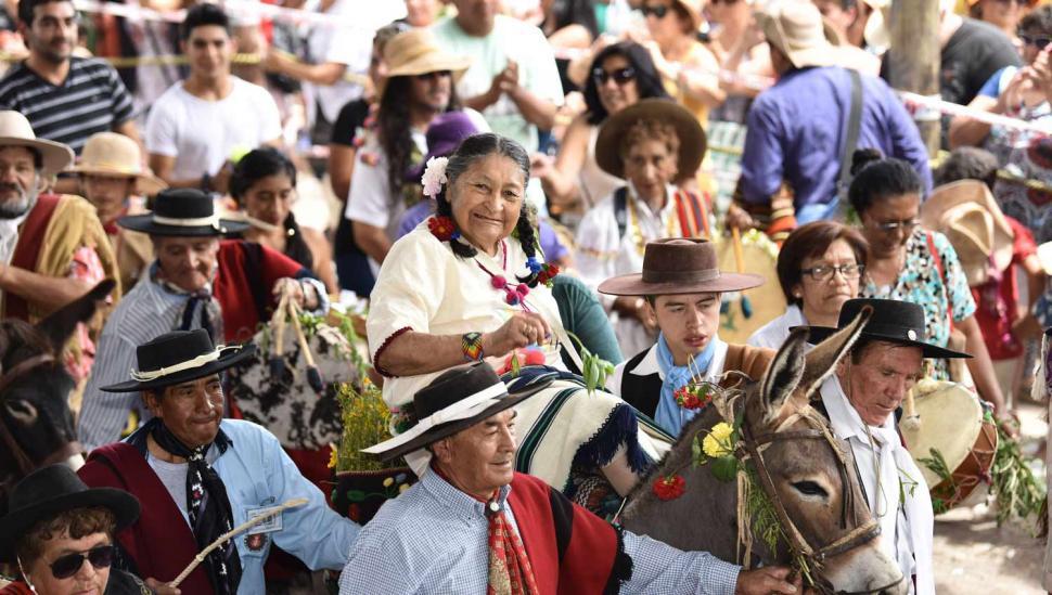 Doña Goyita es la Pachamama