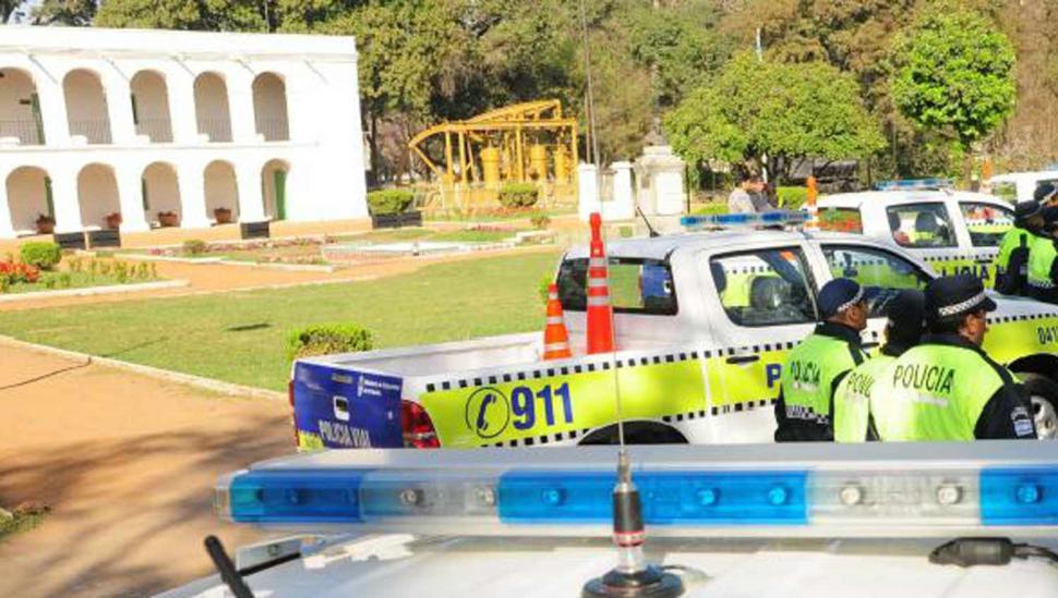Dos policías fueron asesinados esta mañana en el parque 9 de Julio