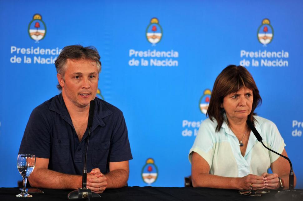 """RESPALDO. De Andreis defendió a su subordinado y afirmó que el Gobierno nacional está """"tranquilo"""" con las explicaciones que brindó Díaz Giligan.  télam"""